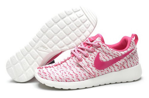 Womens Nike Roshe Yeezy Boost 350 White Pink Wholesale